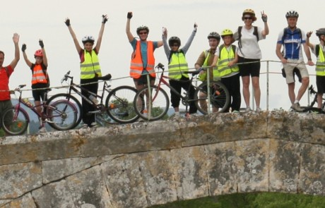 Bandeau Itinérances à vélo des scolaires photo Pascal Gentilleau