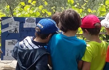 Lors de la journée des Défis pour le Parc à la Maison de la Biodiversité à Manosque en 2016 - Photo PNRL Yohan Boucier