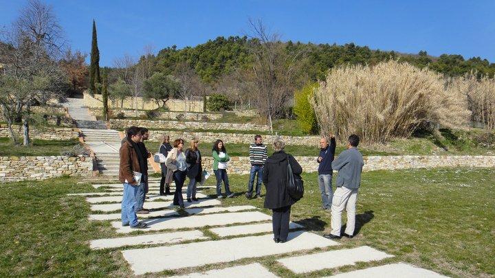 Correspondants Parc à la Maison de la Biodiversité, à Manosque (photo PNRL - Stéphane Legal)