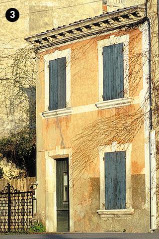 Façade composée du XIXe siècle (photo Hervé Vincent)