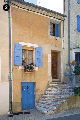 Maison médiévale remaniée au XIXe siècle (photo Hervé Vincent)