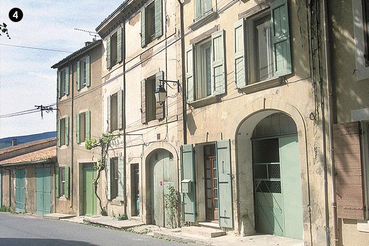 Maison avec remise du XIXe siècle (photo Hervé Vincent)