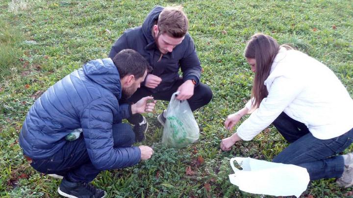 Formation aux plantes comestibles (photo PNRL - Bruno Adam)