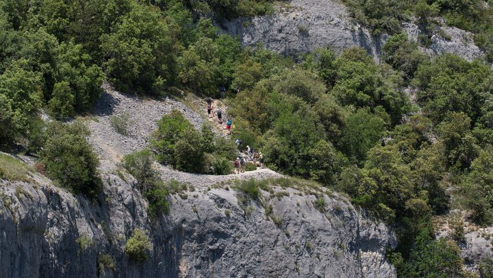 Gorges d'Oppedette (photo PNRL - Stéphane Legal)
