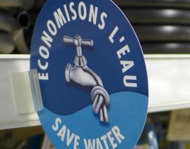 Économisons l'eau