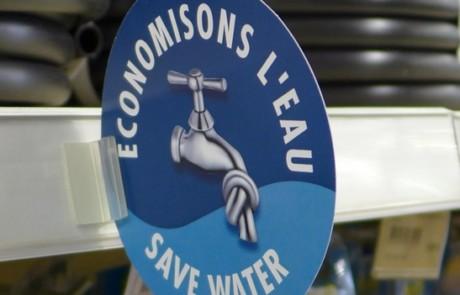Matériel pour économiser l'eau © PNRL-Marjorie Grimaldi