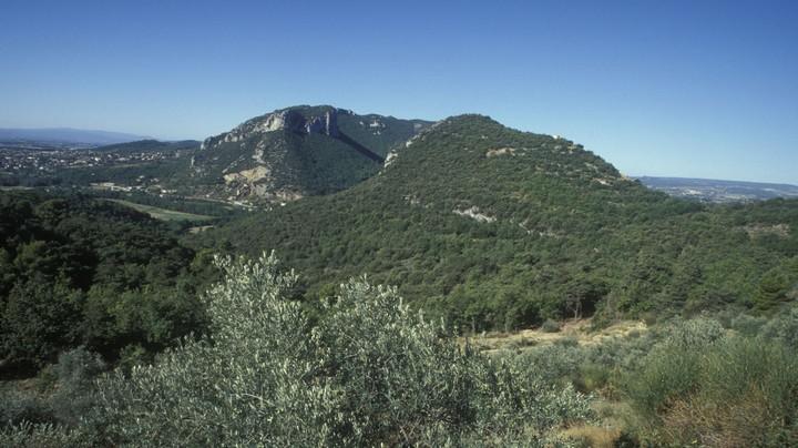 Vue sur le Luberon oriental © PNRL