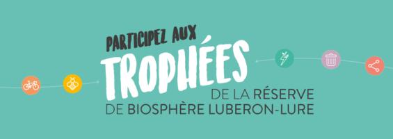 Bandeau Trophées de la Réserve de biosphère Luberon-Lure