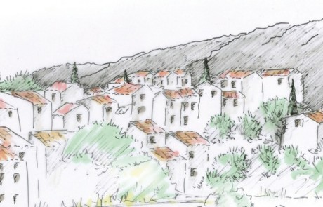 Bandeau plan de paysage Luberon-Lure