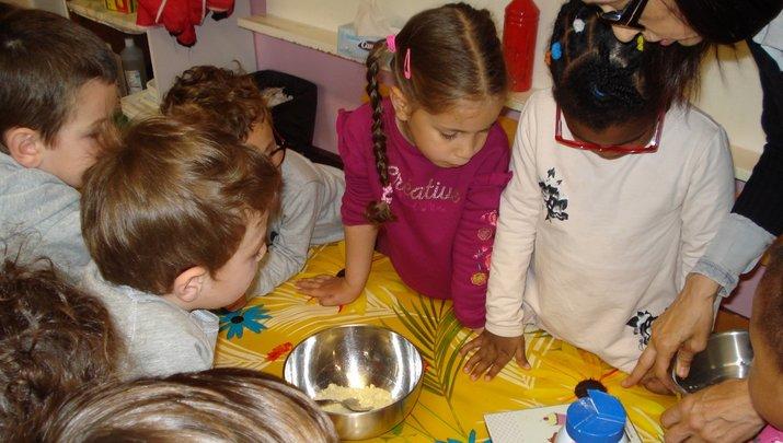 Atelier cuisine Photo: école St Lazare, Cavaillon