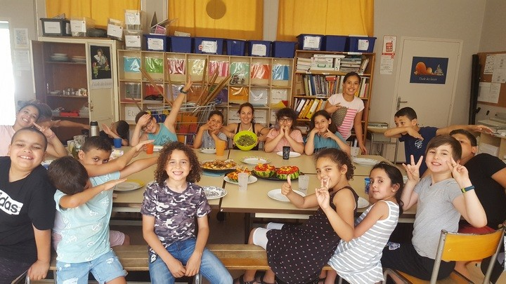 Bien manger en LuberonPhoto : école la Colline à Cavaillon