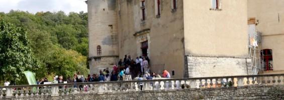 Journées du patrimoine au Château de l'environnement - Photo PNRL-Matthieu Camps