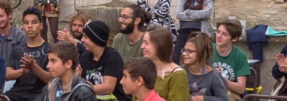 Jeunes présents au Forum de la Réserve de Biosphère Luberon-Lure