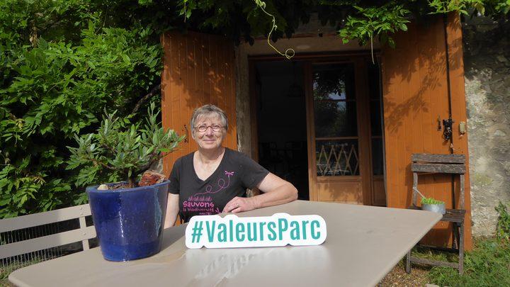 Chambre d'hôtes Le Moulin de Lincel marquée Valeurs Parc Luberon (Photo PNRL)