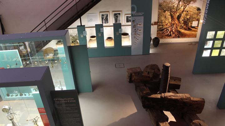 L'éco-musée de l'olivier marqué Valeurs Parc Luberon (photo PNRL Léa Samson)