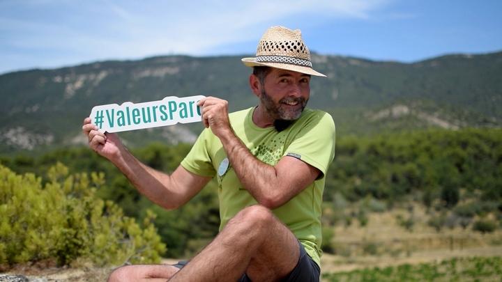 Olivier Léonard marqué Valeurs Parc Luberon (photo Del Berlioux)
