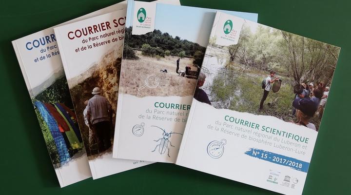 Le Courrier scientifique du Parc du Luberon et de la Réserve de biosphère Luberon-Lure (photo PNRL)