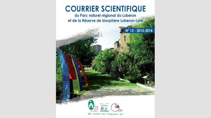 Couverture Courrier scientifique n° 12