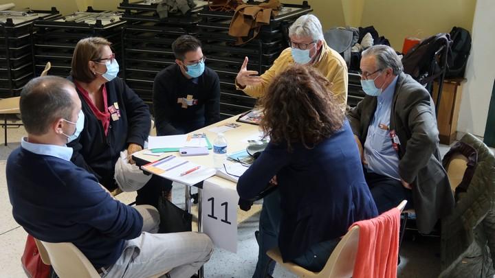 Atelier CTE Luberon-Lure 1er octobre 2020 à La Tour d'Aigues (photo PNRL-Solgne Louis)