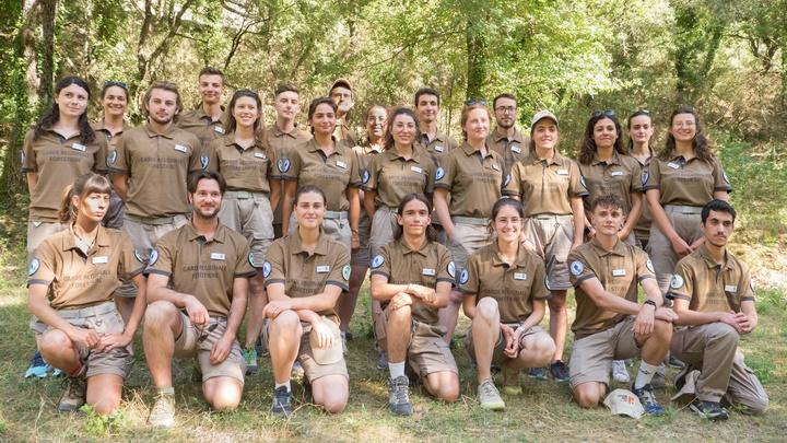 La Garde régionale forestière Luberon 2021 (photo PNRL-Aline Salvaudon)