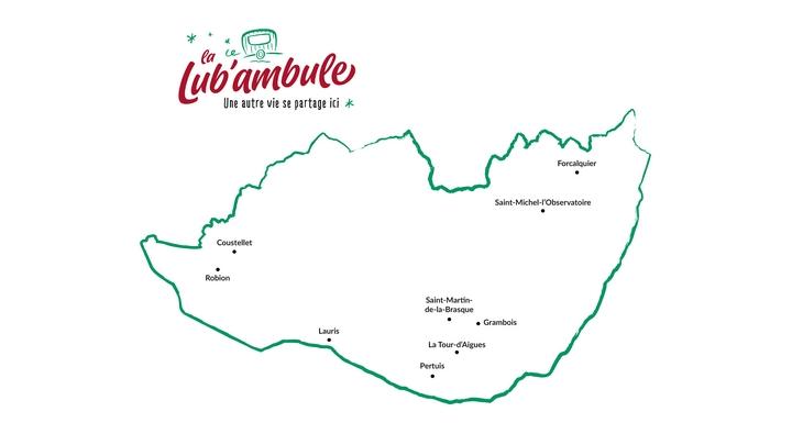 Où trouver la Lub'ambule août-octobre 2021 (carte PNRL-Muriel Krebs)
